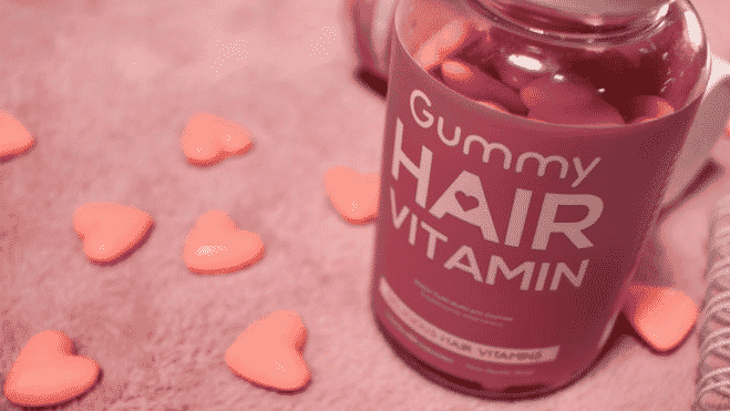 gummy hair vitamin